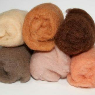 Wool Fibres