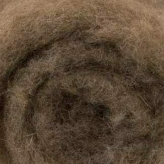 Close-up of wool fibres.