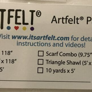 1 yard Artfelt felting paper
